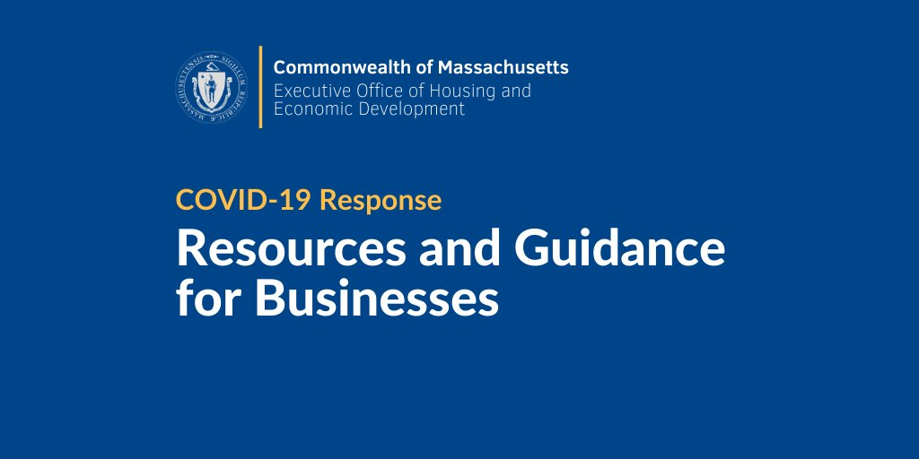 COVID-19 Resources and Guidance for Businesses
